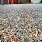 Resin Bound Gravel in Down 2
