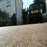 Resin Bound Gravel in Down 7