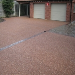 Resin Bound Gravel in Down 10