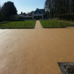 Imprinted Concrete Driveways in Moneyrow Green 1
