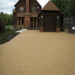 Imprinted Concrete Driveways in Moneyrow Green 4