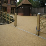Resin Bound Gravel in Down 12