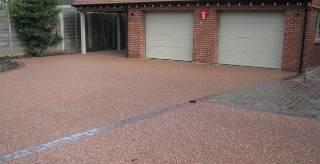 Permeable Resin Paving in Down