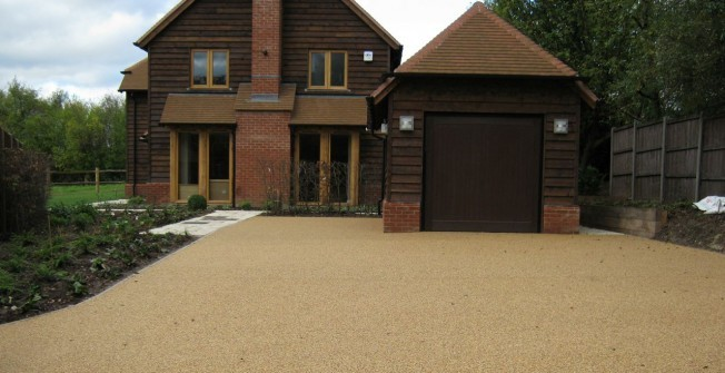 Resin Bound Gravel Drives in Down